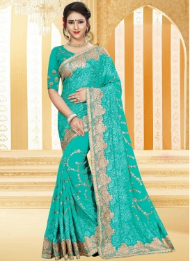 Pure Georgette Contemporary Saree