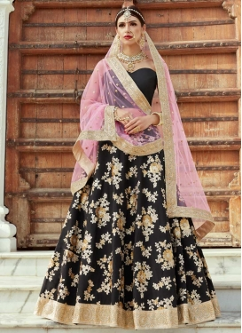 Lace Work Trendy Lehenga Choli