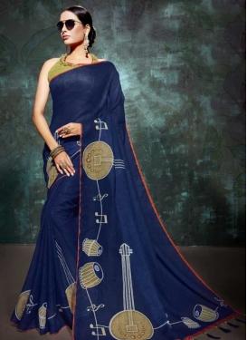 Linen Traditional Saree
