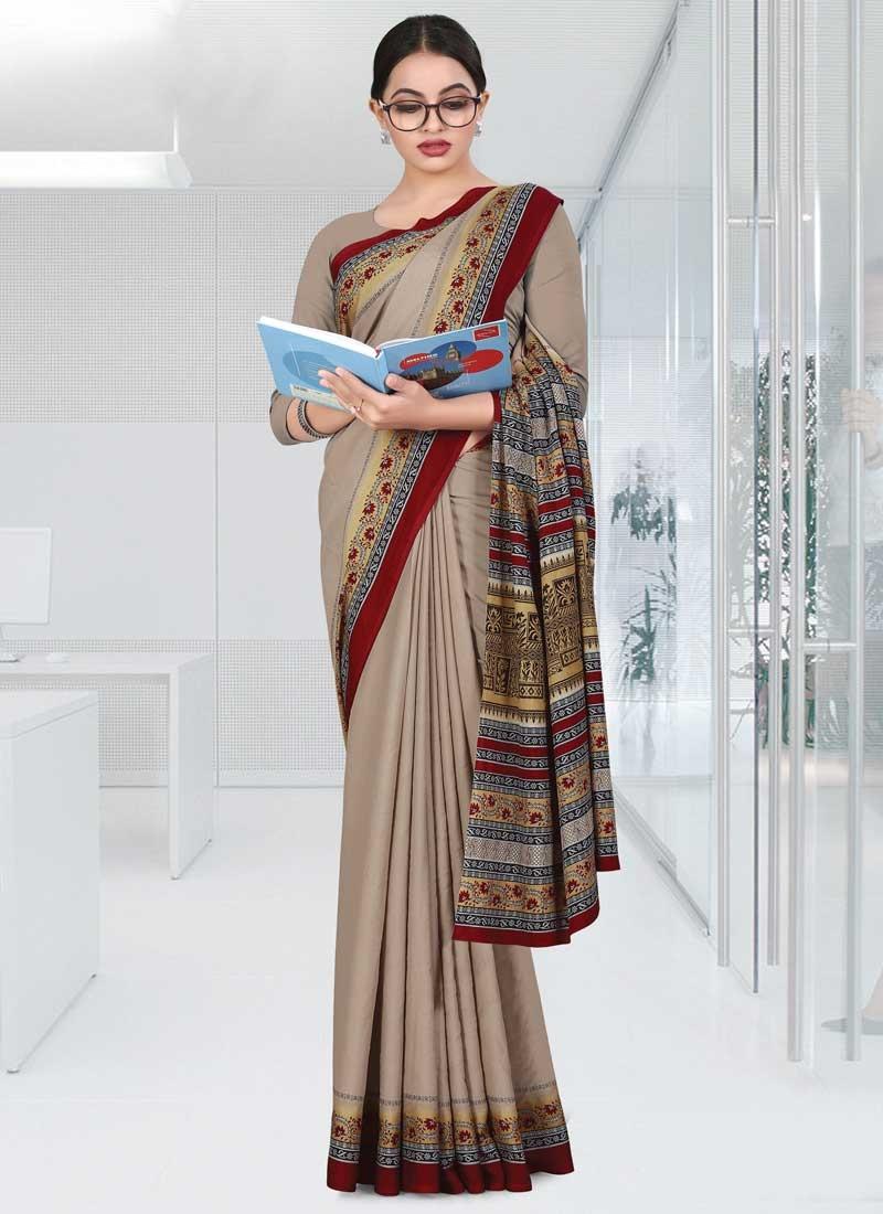 Traditional Designer Saree For Casual
