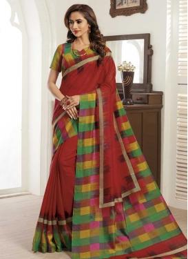 Bhagalpuri Silk Trendy Classic Saree For Casual