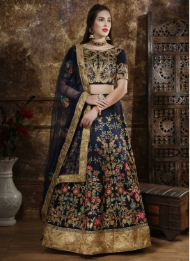 Art Silk Lehenga Choli For Bridal