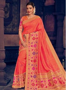 Kajal Aggarwal Traditional Designer Saree For Ceremonial