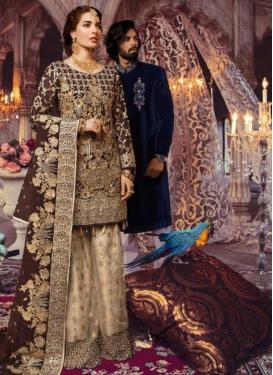 Palazzo Style Pakistani Salwar Kameez For Ceremonial