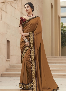 Art Silk Designer Contemporary Saree