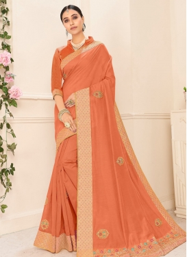 Poly Silk Designer Contemporary Saree