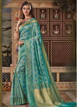 Woven Work Banarasi Silk Designer Traditional Saree