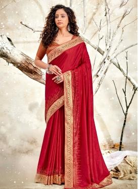 Chanderi Silk Designer Traditional Saree