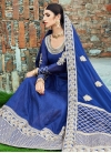 Art Silk Embroidered Work Floor Length Anarkali Salwar Suit - 1