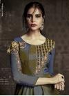 Tafeta Silk Readymade Designer Gown - 1