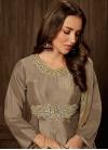 Tafeta Silk Readymade Designer Gown For Festival - 1