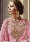Embroidered Work Pant Style Designer Salwar Suit - 2
