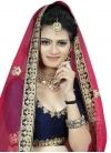 Art Silk Trendy A Line Lehenga Choli - 1