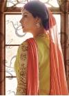 Kameez Style Lehenga Choli For Festival - 1