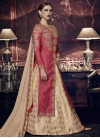 Embroidered Work Designer Kameez Style Lehenga - 1