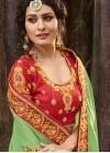 Beads Work Trendy Classic Saree - 1
