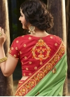 Beads Work Trendy Classic Saree - 2