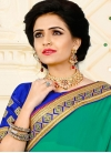 Net Embroidered Work Traditional Saree - 1