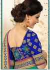 Net Embroidered Work Traditional Saree - 2