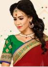 Marvelous Crimson Net Classic Designer Saree - 1
