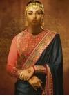 Satin Silk Contemporary Style Saree For Festival - 1