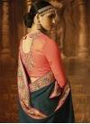 Satin Silk Contemporary Style Saree For Festival - 2