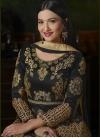 Gauhar Khan Booti Work Floor Length Anarkali Suit - 1