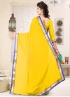 Lace Work Traditional Saree For Casual - 2