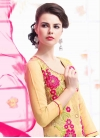 Embroidered Work Pant Style Classic Salwar Suit - 1