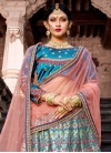 Beads Work A - Line Lehenga For Bridal - 1