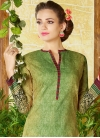 Cotton Pant Style Salwar Kameez For Ceremonial - 1