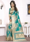 Thread Work Silk Traditional Saree For Ceremonial - 2