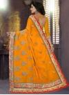 Embroidered Work Trendy Saree - 2