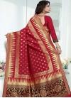 Thread Work Banarasi Silk Classic Saree - 2