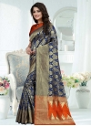 Banarasi Silk Contemporary Style Saree For Festival - 1