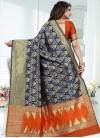 Banarasi Silk Contemporary Style Saree For Festival - 2