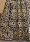 Booti Work Floor Length Anarkali Suit - 1