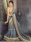 Satin Silk Classic Designer Saree - 1