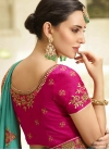 Art Silk Trendy Saree For Ceremonial - 2