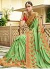 Beads Work Art Silk Designer Contemporary Style Saree - 1