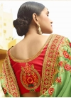 Beads Work Art Silk Designer Contemporary Style Saree - 2