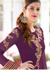 Embroidered Work Palazzo Designer Salwar Suit - 1