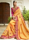 Art Silk Trendy Saree For Festival - 1