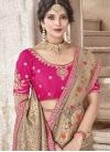 Jacquard Silk Designer Contemporary Style Saree - 1