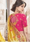 Beads Work Trendy Classic Saree For Bridal - 1