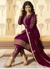 Ayesha Takia Faux Georgette Embroidered Work Pant Style Salwar Kameez - 1