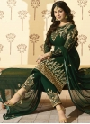 Ayesha Takia Embroidered Work Pant Style Straight Salwar Suit - 1