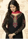 Ayesha Takia Embroidered Work Faux Georgette Pant Style Straight Suit - 1