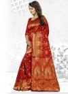 Cherubic Thread Work Traditional Saree - 2