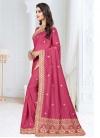 Art Silk Trendy Saree - 1